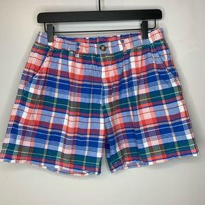 Chubbies Blue Plaid Shorts